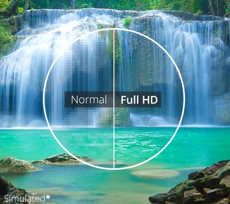 fullhd 450w تفاوت فرمت HD و FULL HD در عکاسی و فیلمبرداری