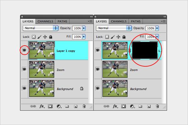 zoom blur4 ایجاد افکت zoom blur در عکاسی