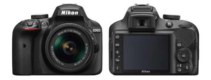 Nikon D3400 4 معرفی دوربين ديجيتال نيکون مدل D3400