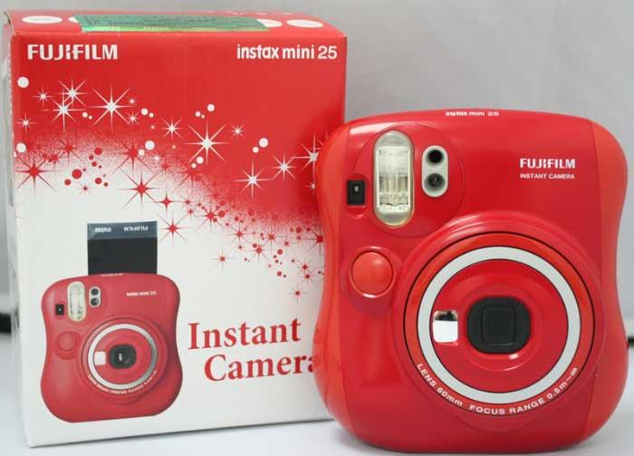 redmini25 ارزیابی دوربین چاپ سریع Fujifilm Instax mini 25