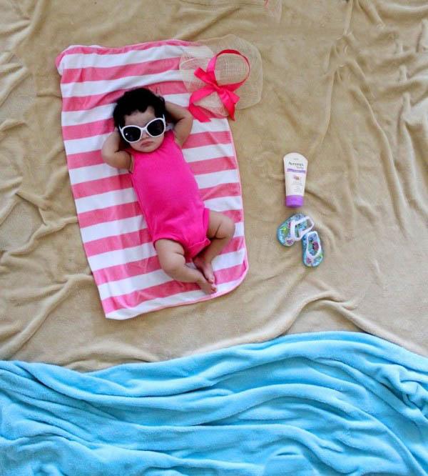 Creative photography of the baby 1 عکاسی های خلاقانه از نوزاد