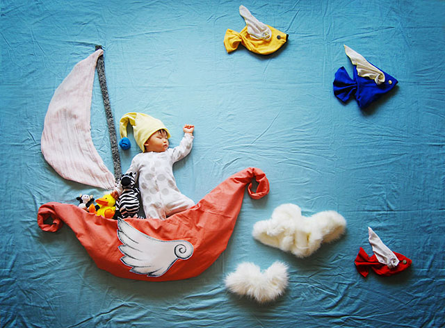 Creative photography of the baby 2 عکاسی های خلاقانه از نوزاد