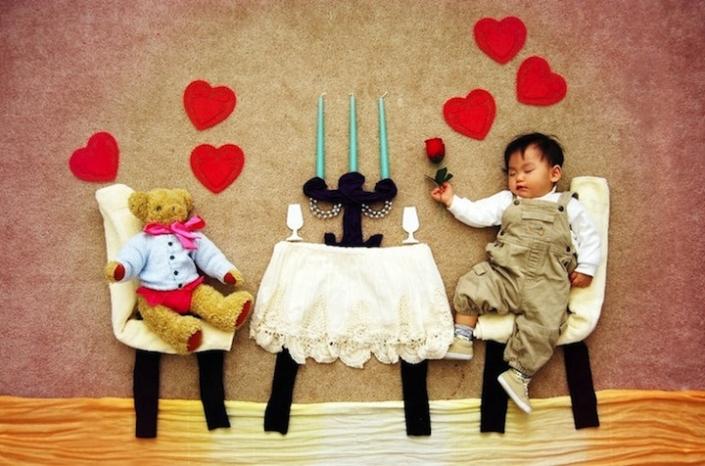 Creative photography of the baby 8 705x466 عکاسی های خلاقانه از نوزاد