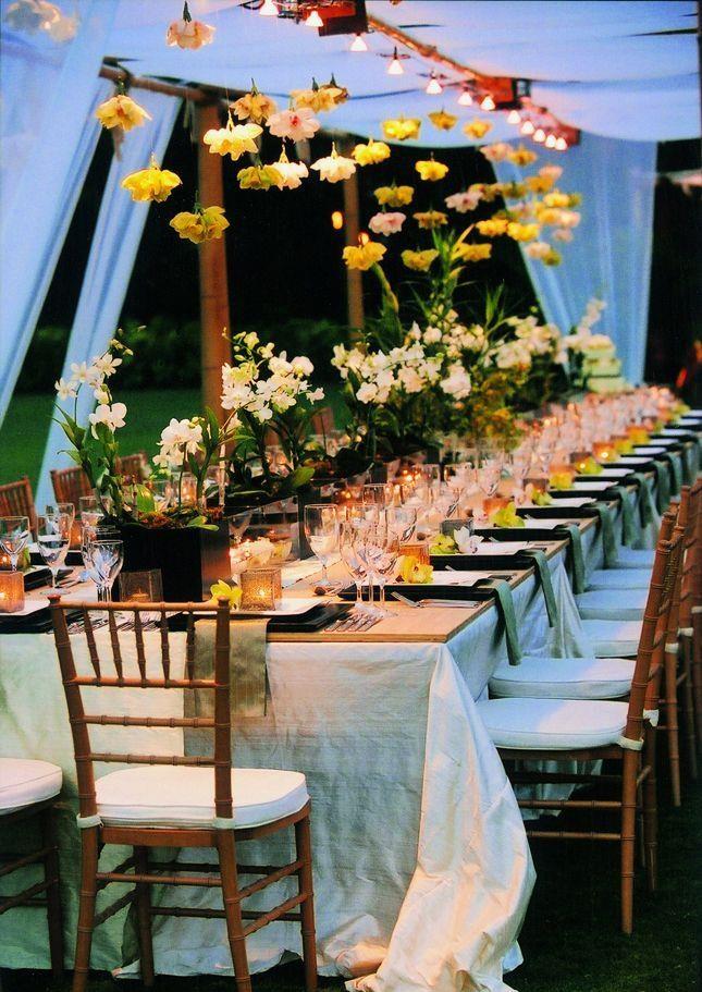 wedding reception table Decoration 1 10 ایده برای تزیین میزهای پذیرایی مراسم عروسی